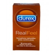 Préservatifs Durex Real Feel x 10