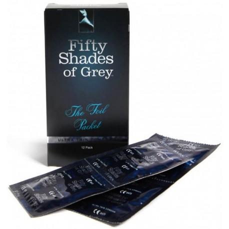 Préservatifs Ultra Fins - Fifty Shades of Grey - x12